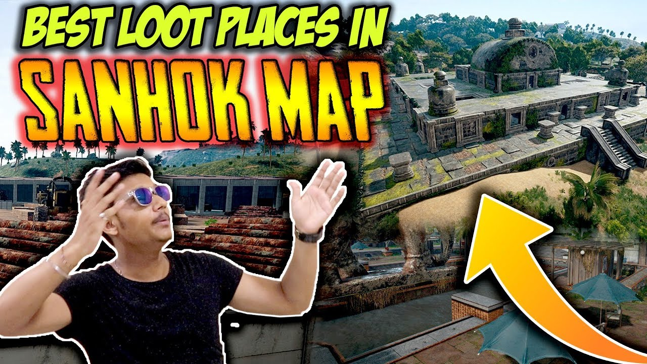 Best Loot Spots And Pubg Mobile Tips In Sanhok Map Pubg: PUBG Mobile INDIA