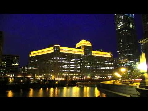 MERCHANDISE MART INTO THE CHICAGO NIGHT * JUNE 2013 1080pHD