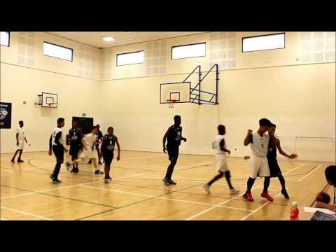 Raines Y10 vs Isaac Newton Y10 Basketball Match 24/01/17