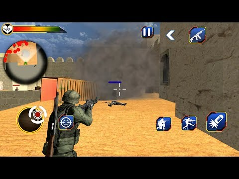 US Army Counter Terrorist Shooting Strike (by Trenzy) Android Gameplay [HD]