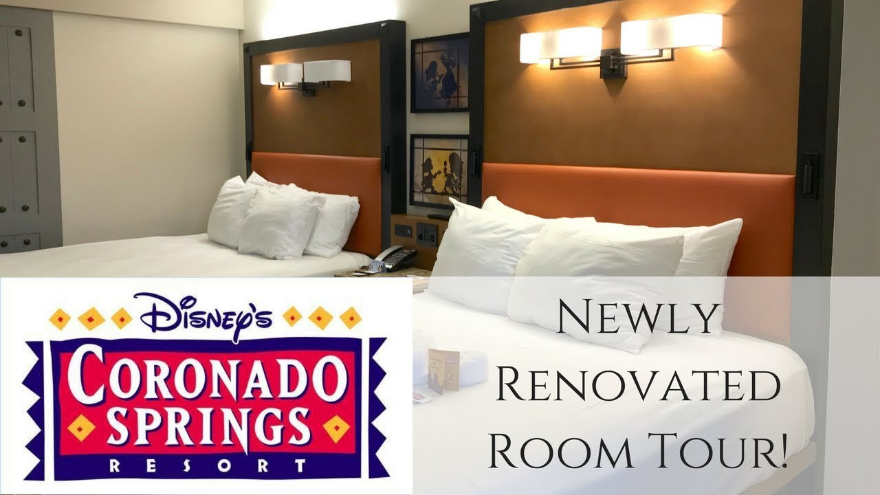 New Rooms At Coronado Springs Resort