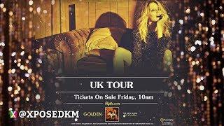 Kylie Minogue - Golden Tour (UK Advert)
