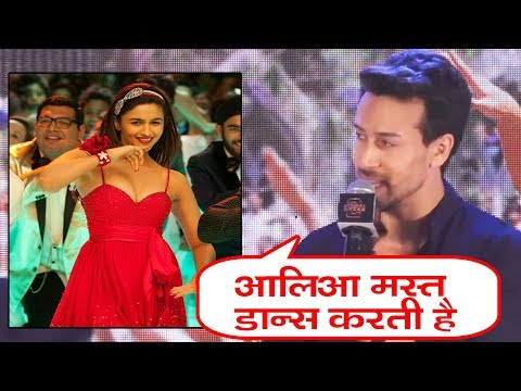 Tiger Shroff REACTION On Working With Alia Bhatt | Student Of The Year 2