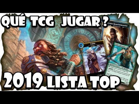 Lista Top 10 Mejores Juegos TCG 2019 | Trading Card Games F2P Y B2P |