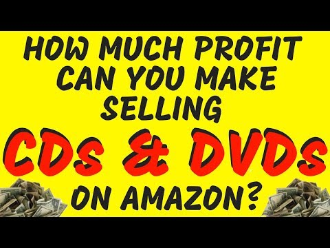 How Much Can You Profit From Selling CDs & DVDs On Amazon FBA In 2019