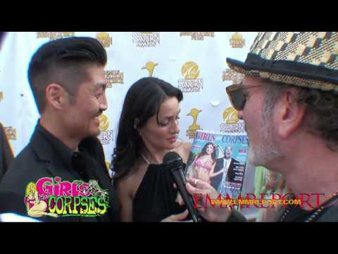 JAV STAR Brian Tee Mirelly Taylor  at the Saturn Awards