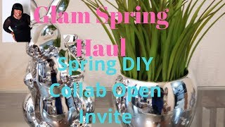 Spring DIY Collab Open Invite and Glam Spring Haul