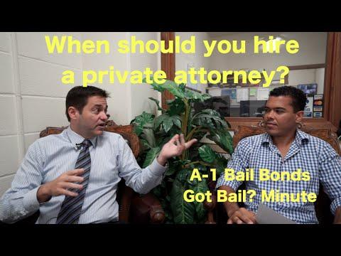 When to hire a private attorney