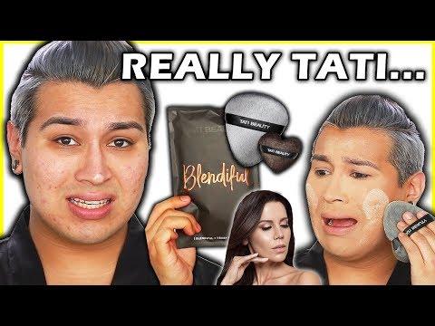 UNBIASED TATI BEAUTY BLENDIFUL REVIEW... Tested on OILY ACNE skin!
