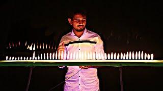 इसे कहते हैं गाने से आग लगाना - Wow!!! Music On Fire | Amazing Science Experiment