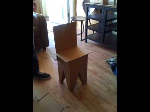 Design A Cardboard Chair
