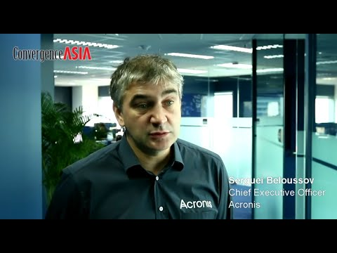 Sixty-second Insight with Serguei Beloussov of Acronis