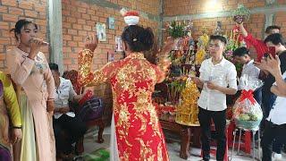 Dâng mâm vàng mâm bạc, Đặc sắc Nghệ thuật múa xiếc bóng rỗi cúng Tổ nghệ nhân Huỳnh Hoa Long An