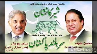 PML N NEW SONG 2018