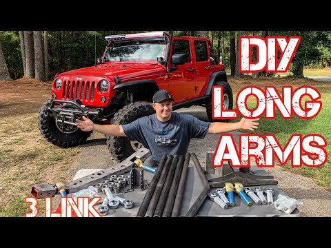 Jeep Wrangler Long Arm Install – DIY 3 Link