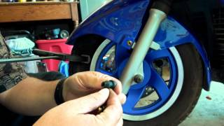 How to change a Valve Stem the easy way