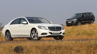 2014 Mercedes-Benz S-Class vs Range Rover in India
