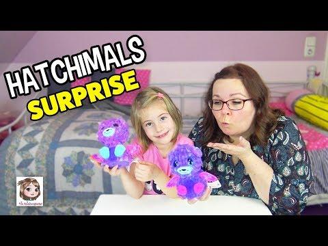 HATCHIMALS SURPRISE 🥚 Es schlüpfen Zwillinge! 🐱🐱 2 in 1 Überraschungsei