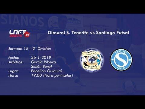 Dimurol S. Tenerife vs Santiago Futsal