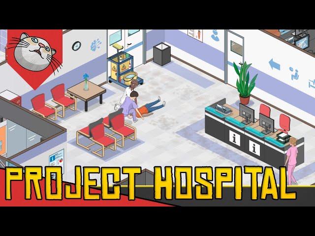 Gerenciamento REALISTA de HOSPITAIS - Project Hospital [Conhecendo o Jogo Gameplay PT-BR]