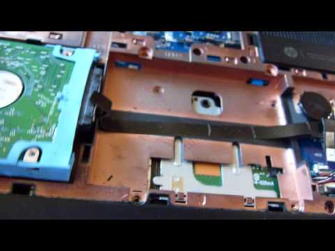 Fix Broken Hinges On HP TouchSmart M7-J120DX LAPTOP