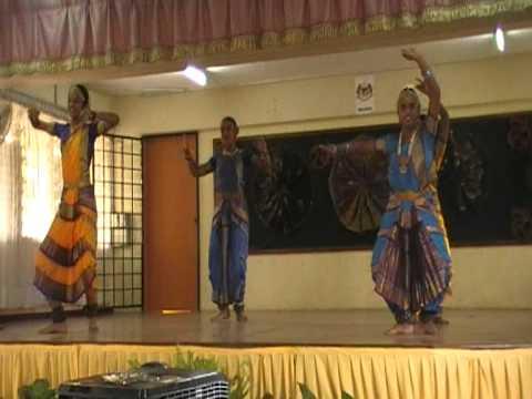 Tarian Klasik India ( SMK Puchong)