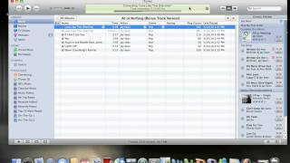 How to convert AAC songs into MP3 format on itunes 9