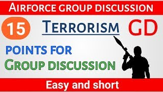 Terrorism topic for GD | Terrorism in the wold  | Terrorism for Group discussion