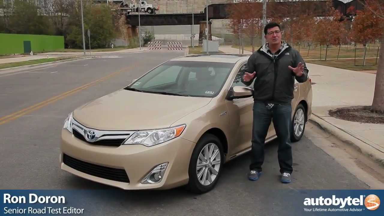 2012 toyota camry hybrid test drive car review youtube. Black Bedroom Furniture Sets. Home Design Ideas