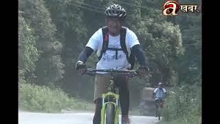 Cycle ride in 25th memory of Rupak Sharma
