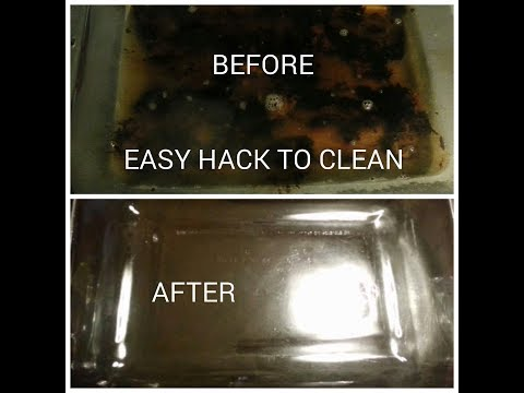 THE BEST HACK /HOW TO CLEAN A BURNT PYREX/POT