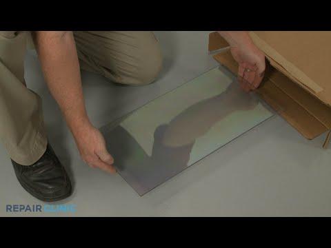 Lower Inner Door Glass - Kitchenaid Double Oven Electric Range #KFED500ESS02