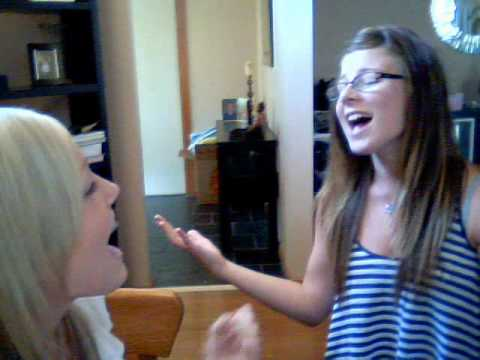 Me and holly singing :)