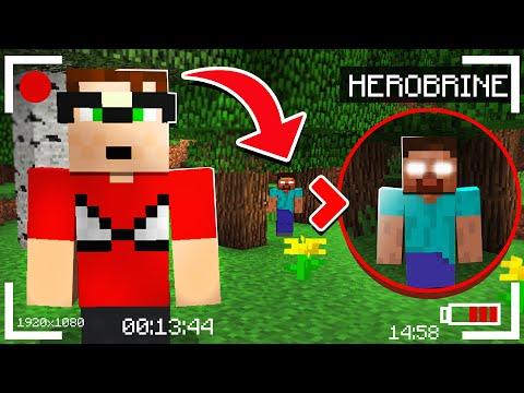 Minecraft Só Que A Cada 5 MINUTOS O HEROBRINE APARECE!