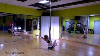 Pole Dance - Front Walkover Vol. 5.6