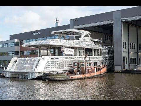 2016 Mulder ThirtySix hull construction transport