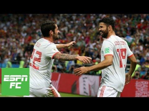 'Underwhelming' Spain beats Iran 1-0 behind strange Diego Costa goal at 2018 World Cup | ESPN FC