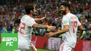 'Underwhelming' Spain beats Iran 1-0 behind strange Diego Costa goal at 2018 World Cup | ESPN FC