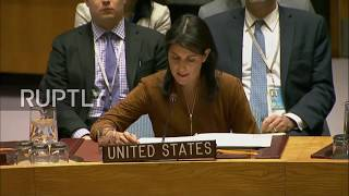 UN: 'Russia is wasting our time,' blasts UN envoy Haley on veto