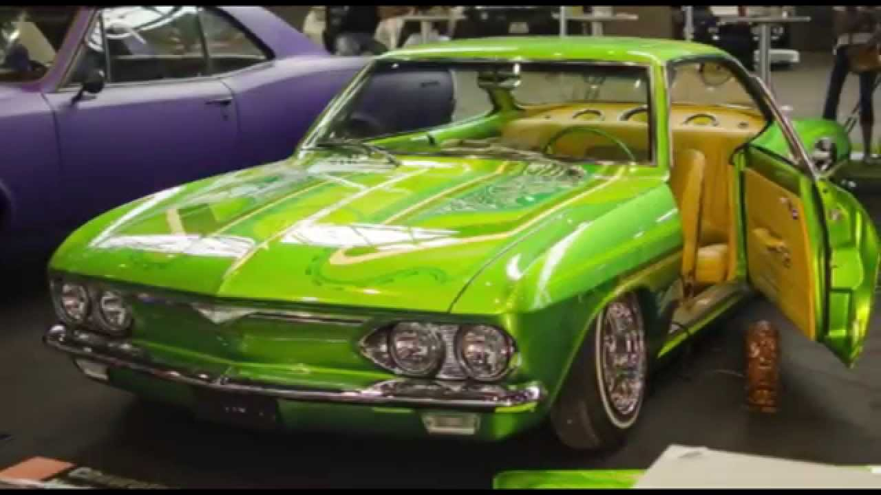 1966 Corvair Lowrider by Newride - YouTube