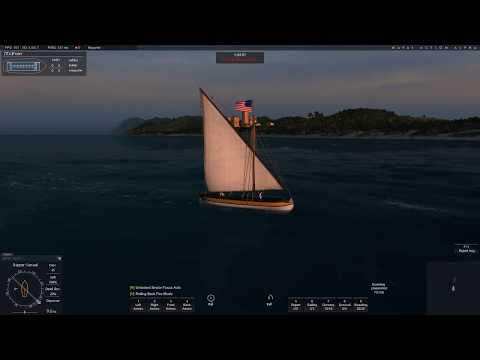 Naval Action:  Gunboat vs Trader Brig - La Tortue Channel
