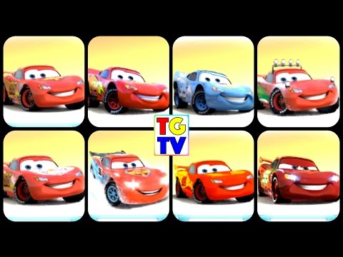 View All 25 Cars Lightning McQueen Paint Jobs NEON | Cars Fast as Lightning