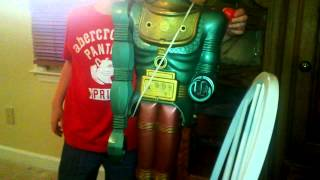 BIG LOO THE MOON ROBOT MARX TOYS