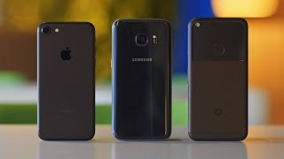Pixel vs iPhone 7 vs Galaxy S7 — что купить?