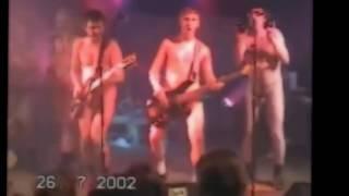Пьяный Голый Ленинград на сцене в Германии