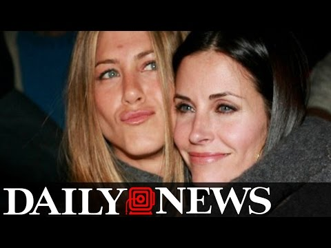 Courteney Cox Comments On Jennifer Aniston Dragged Into Brad Pitt's Divorce
