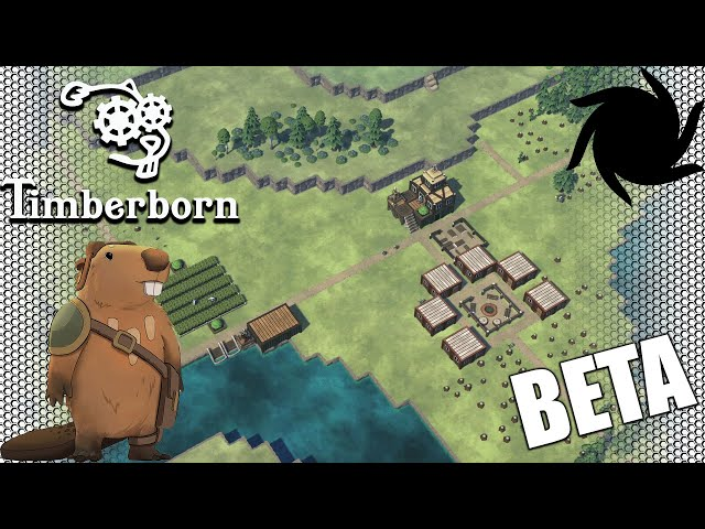 Timberborn Beta - Fancy Beavers - Lets Start With Food This Time