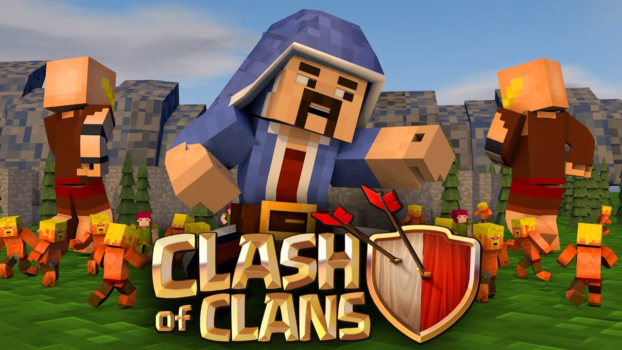 Minecraft Clash Of Clans Nations   Best Raids Ever Youtube
