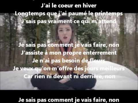 [LYRICS] Comment je vais faire - Hoshi (paroles)