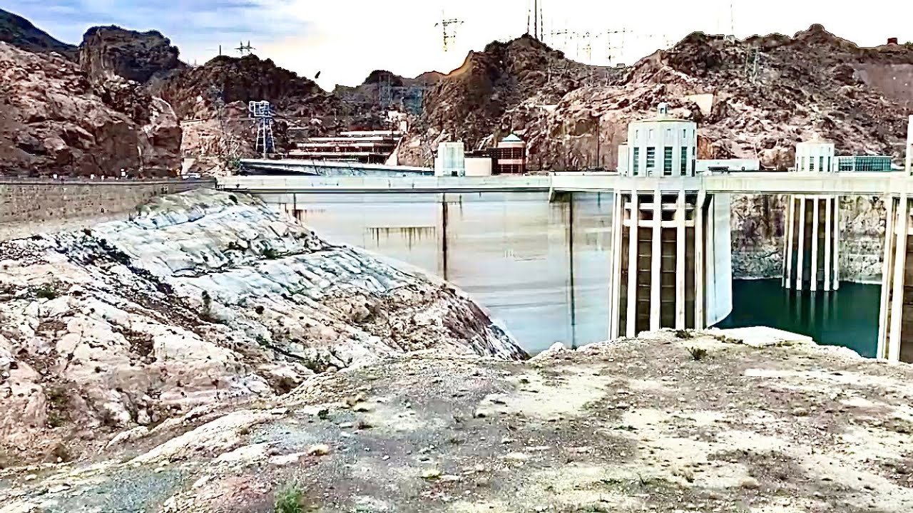 Hoover Dam LOW WATER LEVEL September 2019 IT'S HOT! - YouTube |Hoover Dam Water